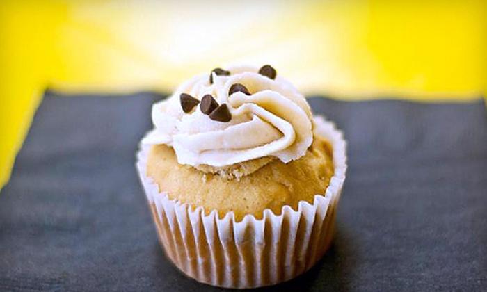 The Cupcake Edition - Meadow Green: $12 for One Dozen Gourmet Cupcakes at The Cupcake Edition ($25 Value)