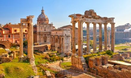 ✈ Rome, Venice and Florence: 6 or 9 Nights at Choice of Hotels with Train Transfers and Return Flights*