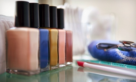 One or Three Mani-Pedis with Kate Wilder at Mane Event Salon & Spa (Up to 53% Off)