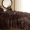 Essentially Home Living Faux Tiger Fur Comforter Set