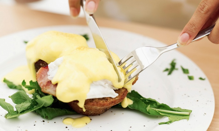 Manhattan's - City Center: Brunch or Lunch Entrees for Two or Four at Manhattan's (Up to 63% Off)