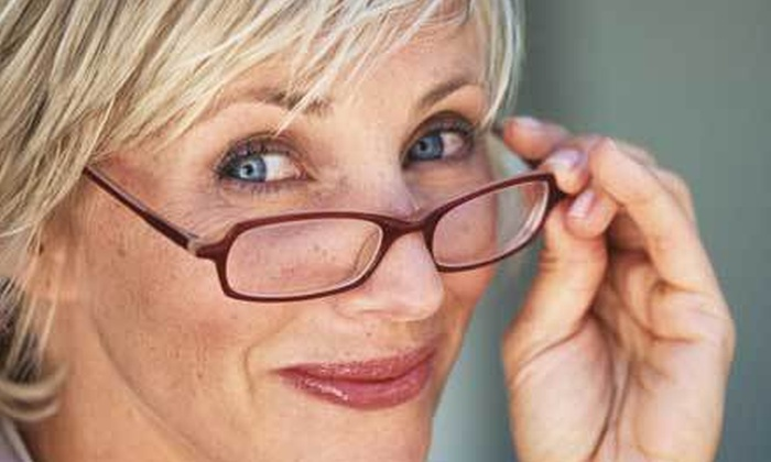 Pearle Vision - Madison: $50 for an Eye Exam and $225 Toward a Complete Pair of Prescription Glasses at Pearle Vision ($300 Value)