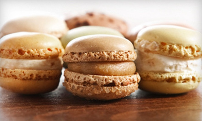 La Patisserie by Oven Fresh Delights - Pflugerville: 24 or 12 Medium Macarons Parisiens or 24 Large Macarons at La Patisserie by Oven Fresh Delights(Up to 54% Off)