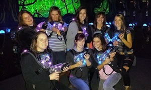 Lazer Lite: 4, 8, or 12 Games of Laser Tag at Lazer Lite (Up to 42% Off)