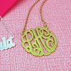 Up to 73% Off Gold-Plated Custom Necklaces