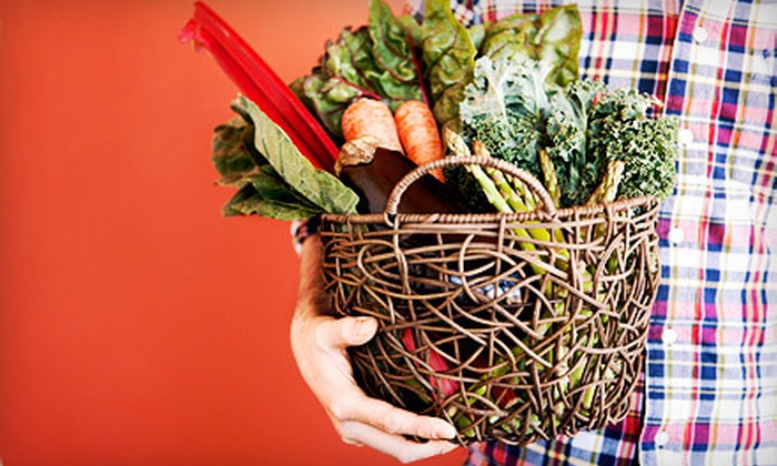 DoorStep Produce: Home Delivery of a 1/2- or 3/4-Bushel Box of Fresh Winter Vegetables from DoorStep Produce (51% Off)