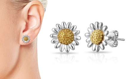 One or Two Pairs of Philip Jones Daisy Stud Earrings