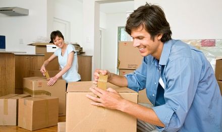 Two or Three Hours of Moving Services with Two Technicians from America's Family Moving & Storage (Up to 65% Off)
