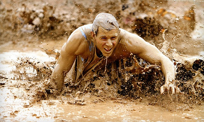 Rugged Maniac 5K Obstacle Race - Old Bridge: $29 for Entry to Rugged Maniac 5K Obstacle Race on Sunday July 14 at Raceway Park (Up to $68 Value)