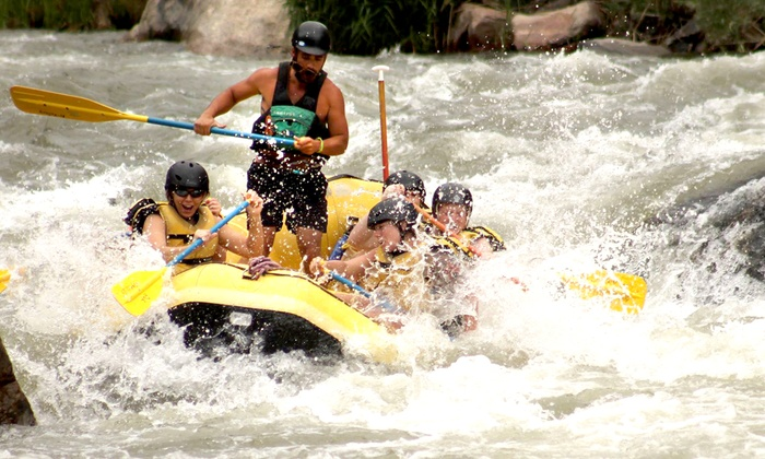 Rock-N-Row - Cotopaxi: Half-Day Bighorn Sheep Canyon Rafting Trip for Two or Four from Rock-N-Row (Up to 50% Off)