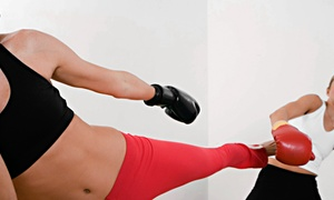 Effective Kickboxing: 10 or 20 Drop-In Kick-Boxing Classes at Effective Kickboxing (Up to 90% Off)