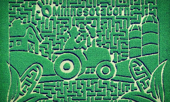 Sever's Corn Maze - Shakopee: $26 for a Corn Maze Adventure for Four at Sever's Corn Maze (Up to $52 Value)