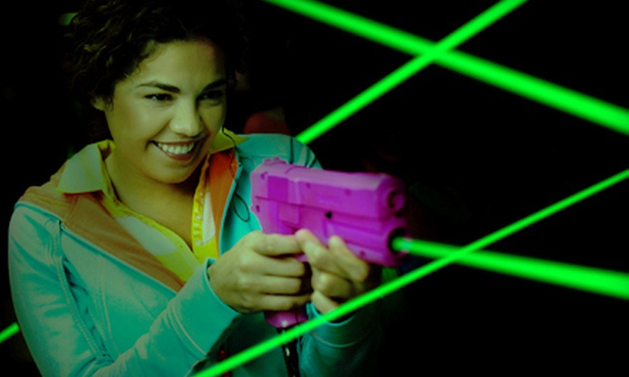 Tilt Studio - Katy Mills: Pizza, Video Games, and Laser Tag or Mini Golf for Two or Four at Tilt Studio in Katy (Up to 62% Off)