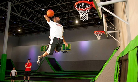 Two for Four Two-Hour Jump Sessions at Elevate Trampoline Park (38% Off)