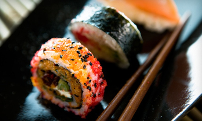 Musashi Sushi & Grill - Woodridge: $15 for $30 Worth of Asian-Fusion Dinner at Musashi Sushi & Grill (Half Off)
