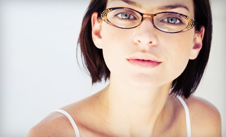 $250 Groupon Toward a Complete Pair of Presecription Eye Glasses or Prescription Sunglasses - Pittsford Optical in Rochester