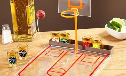 Jeu de boisson Shot Pong ou Basketball pour adultes