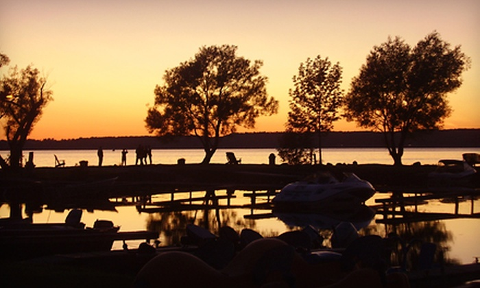 Golden Beach Resort - Roseneath, ON: Two-, Three-, or Seven-Night Stay with Boat Rental at Golden Beach Resort (Up to 55% Off). Six Options Available.
