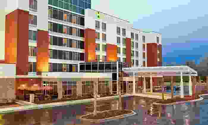 null - Charleston: Stay with Daily Dining Credit at Hyatt Place North Charleston in South Carolina. Dates Available into December.