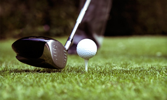 Perry Country Club - Perry: 18-Hole Round of Golf with Range Balls for Two or Four at Perry Country Club (Up to 61% Off)