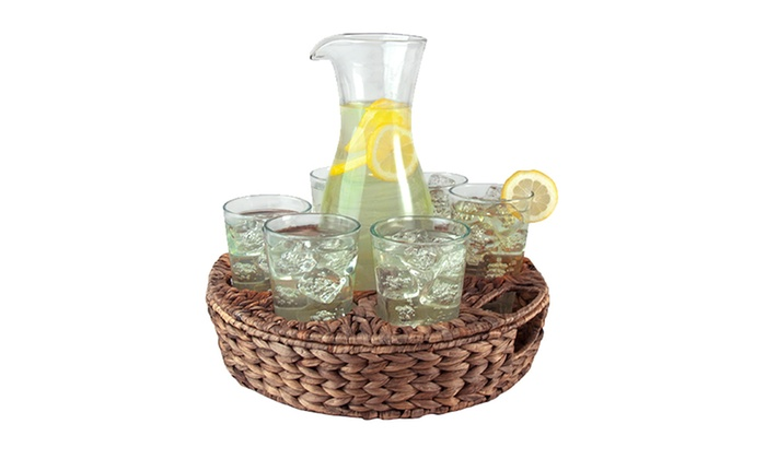 Garden Terrace 9-Piece Beverage Set: Garden Terrace 9-Piece Beverage Set. Free Shipping.