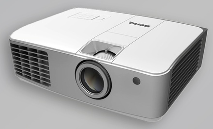 groupon daily deal - BenQ 1080p Wireless HD DLP Projector with 4 Pairs of 3D Glasses. Free Returns.