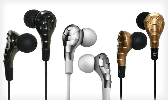 iHip Elite Earbuds: $15 for One Pair of iHip Elite Earbuds ($59.99 List Price). Three Colors Available. Free Shipping and Free Returns.