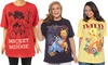 Women's Plus-Size Disney T-Shirt 2-Pack: Women's Plus-Size Disney T-Shirt 2-Pack