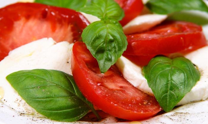 La Guardia - City Centre: Italian Cuisine at La Guardia (Up to 52% Off). Two Options Available.