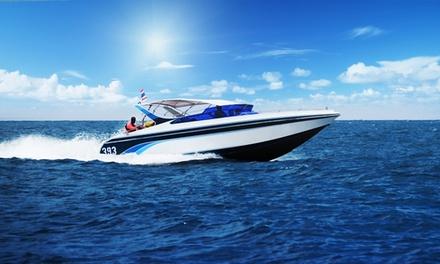 Wertgutschein anrechenbar auf Sportbootführerschein-Ausbildung Binnen und See in der Schifffahrschule AMC ab 199 €