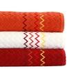 2- or 3-Piece Turkish Cotton Jacquard Bath Towel Sets