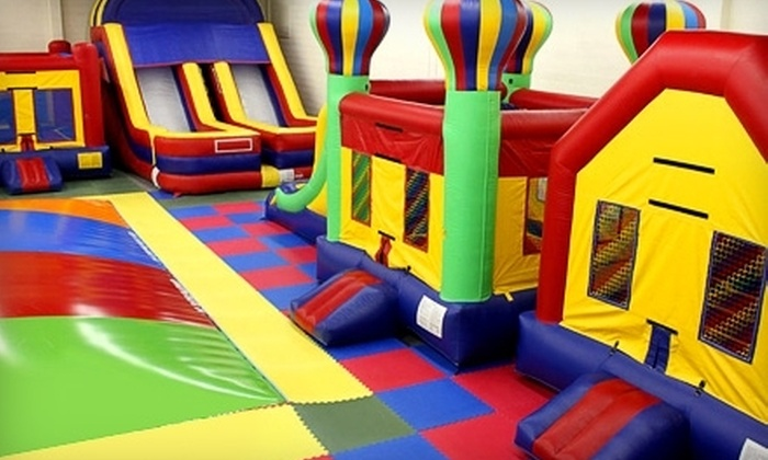 Jump Around Utah - Salt Lake City: One or Five All-Day Open-Jump Passes at Jump Around Utah (Up to 56% Off)