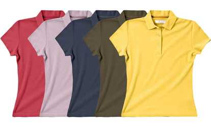 e285f8c3eff Shop Groupon Zorrel Women s Pima Pique Performance Polo. Plus Sizes  Available.