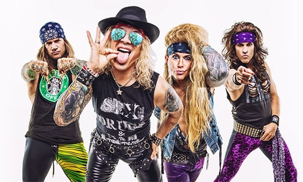 Steel Panther: Heavy Metal Rules Tour on Friday, October 18, at 8:30 p.m.