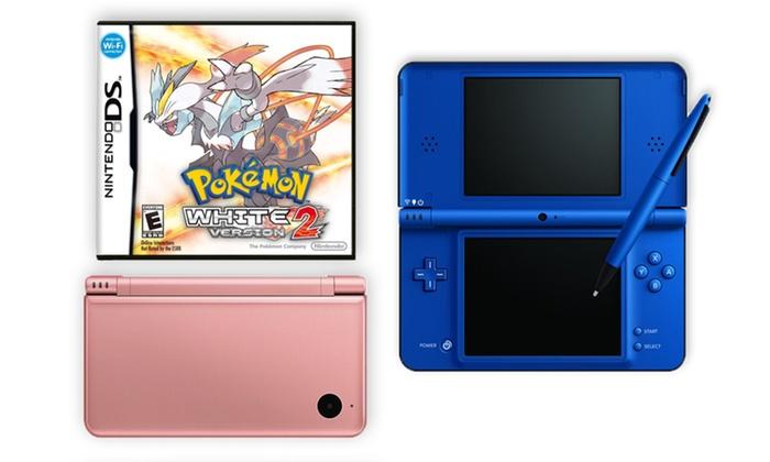 Nintendo DSi XL and Pokemon White 2 Bundle: Nintendo DSi XL (Refurbished) and Pokemon White Version 2 Bundle. Multiple Colors Available.  Free Returns.