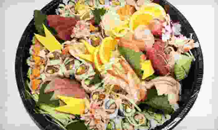 Sushi Thaime - Sushi Thaime: $15 for $30 Worth of Sushi and Drinks at Sushi Thaime