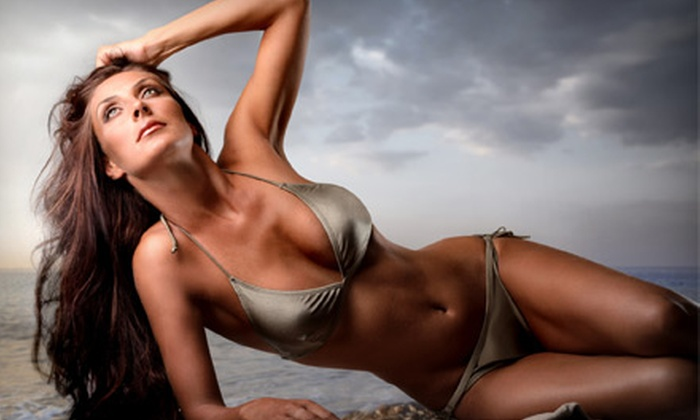 Brazil Bronze Glow Bar - SoHo: One or Three Spray Tans, or Six Spray Tans with One Brazil Bronze Line Filler (Up to 68% Off)