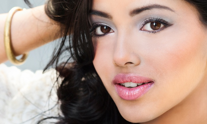 Erica Wilson Makeup Studios - Washington DC: Eyebrow Shaping, Eyelash Extensions, or Full-Face Makeup Application at Erica Wilson Makeup Studios (Up to 52% Off)