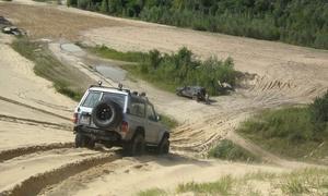TERENOWY PATROL: Off road quadem (od 58 zł) lub samochodem terenowym 4x4 (od 119 zł) z Terenowym Patrolem