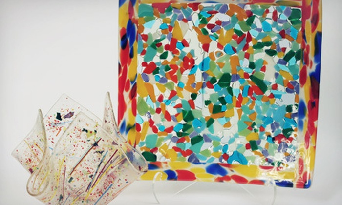 Tucson Stained Glass - Midtown: Two-Hour Fused-Plate-Making Workshop for One, Two, or Four at Tucson Stained Glass (Up to 63% Off)