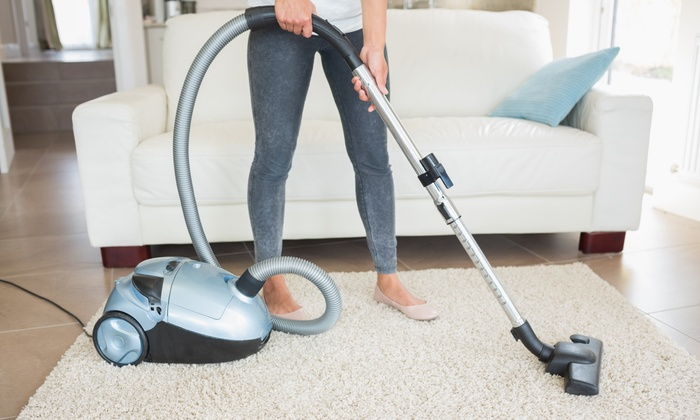 Squeaky Clean Housecleaning Services - St Louis: Three Rooms of Carpet Cleaning with Scotchgard Protection from Squeaky Clean Carpet Cleaning (45% Off)