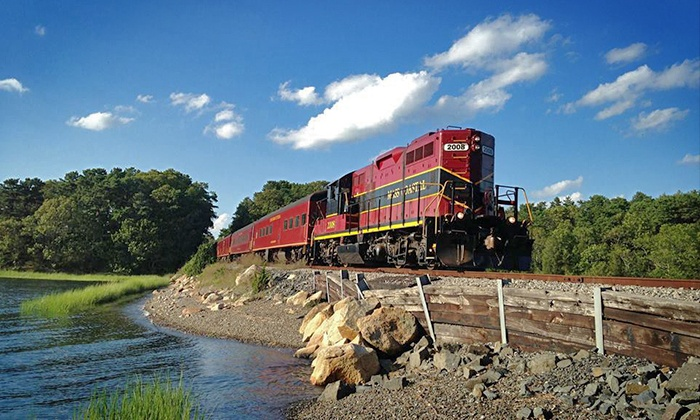 Cape Cod Central Railroad - Hyannis Depot: Two or Four Shoreline Excursion Tickets to Board a Vintage Train on the Cape Cod Central Railroad (Up to 39% Off)