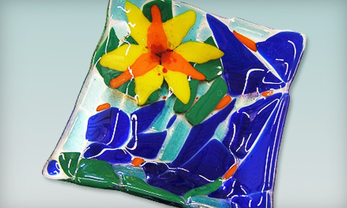 Sonoran Glass School - Barrio Viejo: One-Hour Fuse Your Own Glass Bowl Class for One or Two at Sonoran Glass School (Up to 52% Off)