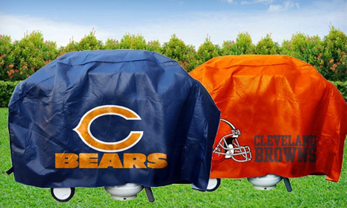 Up To 46 Off Nfl Grill Covers Groupon
