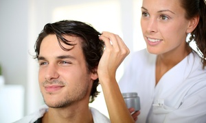 Laura Costin at Blades Hair Studio: Men's Haircut Packages from Laura Costin at Blades Hair Studio (Up to 56% Off). Three Options Available.