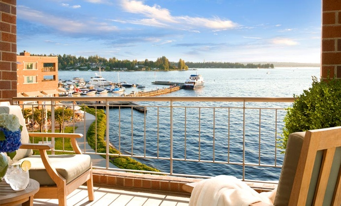 4-Star Lakefront Resort near Seattle