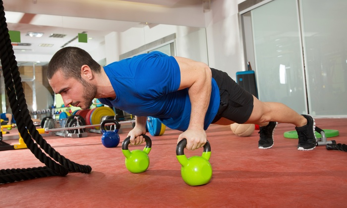 Symmetrics Fitness - Grantville: Four Weeks of Fitness and Conditioning Classes at Symmetrics Training Center (75% Off)