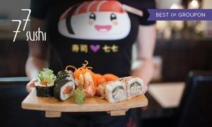 77 Sushi: Japońskie przysmaki: 40 zł za groupon wart 80 zł na dania z menu i więcej opcji w 77 Sushi – 7 lokalizacji