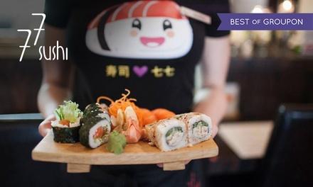 Japońskie specjały w 77 Sushi