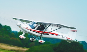 Fly By Light: Introductory Flying Lesson For One (£125) or Two (£249) at Fly By Light